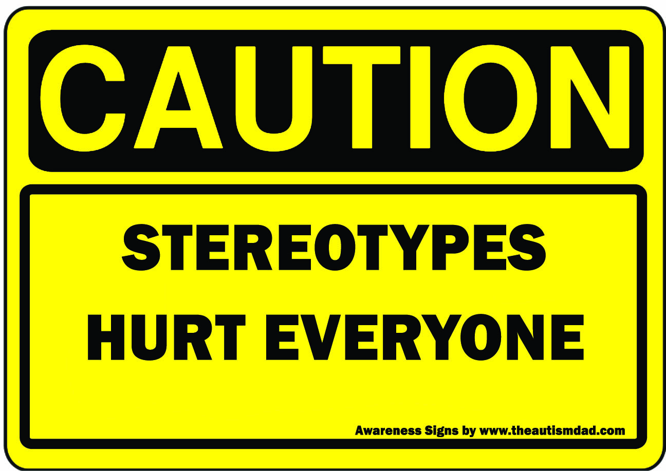 Caution Stereotypes