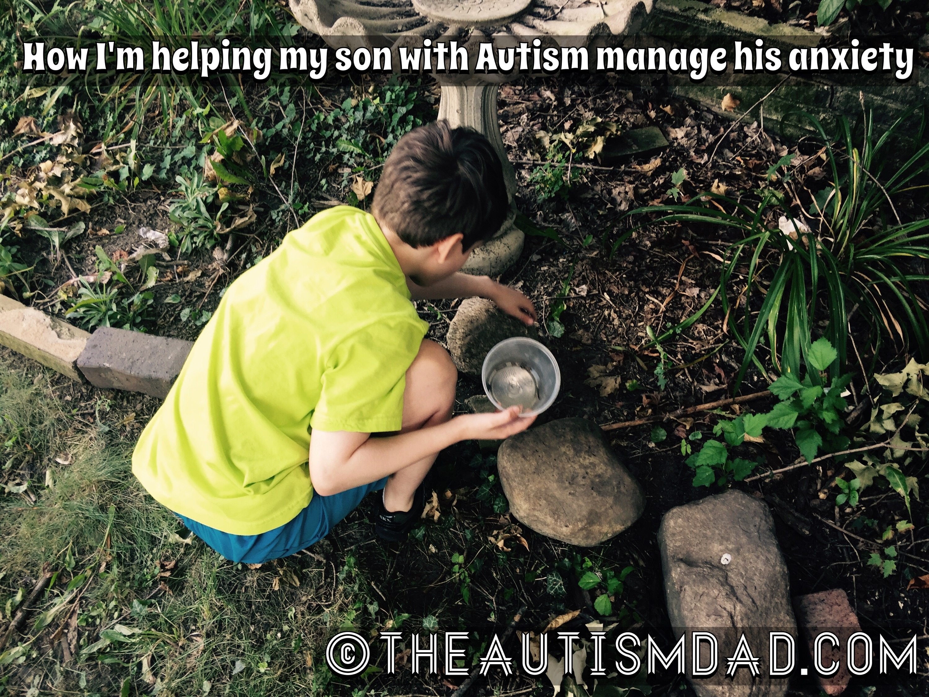 How I'm helping my son with #Autism manage his #anxiety