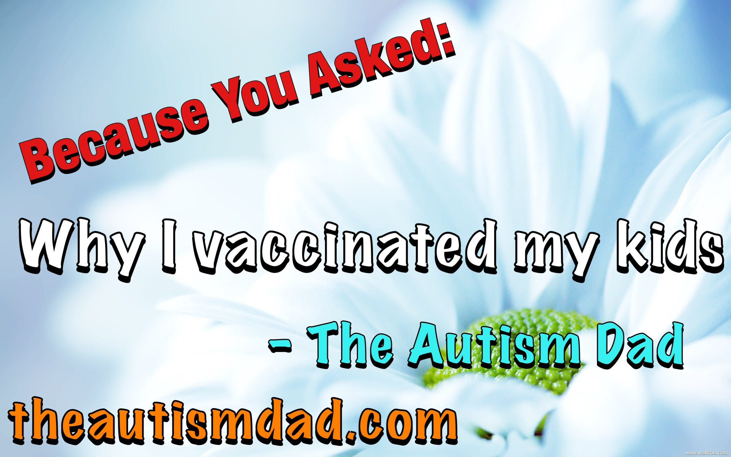 Because You Asked: Why I vaccinated my kids