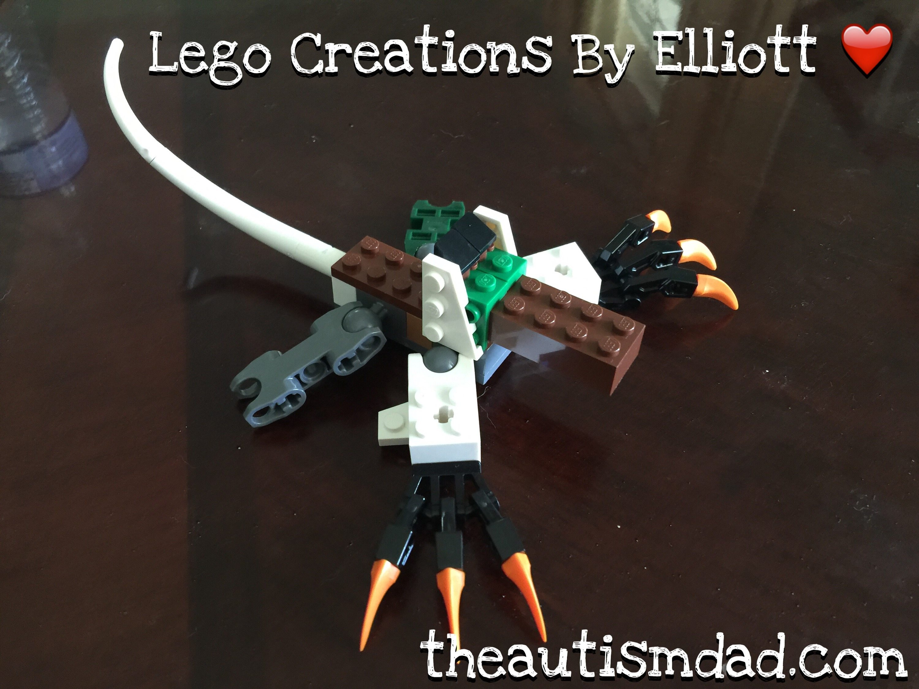 Lego creations by Elliott: The Ferret