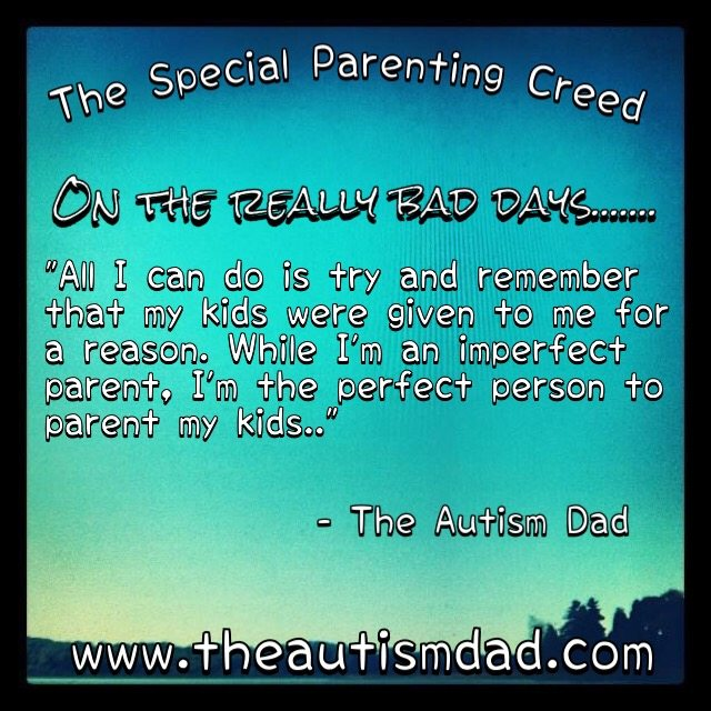 The Special Needs Parenting Creed