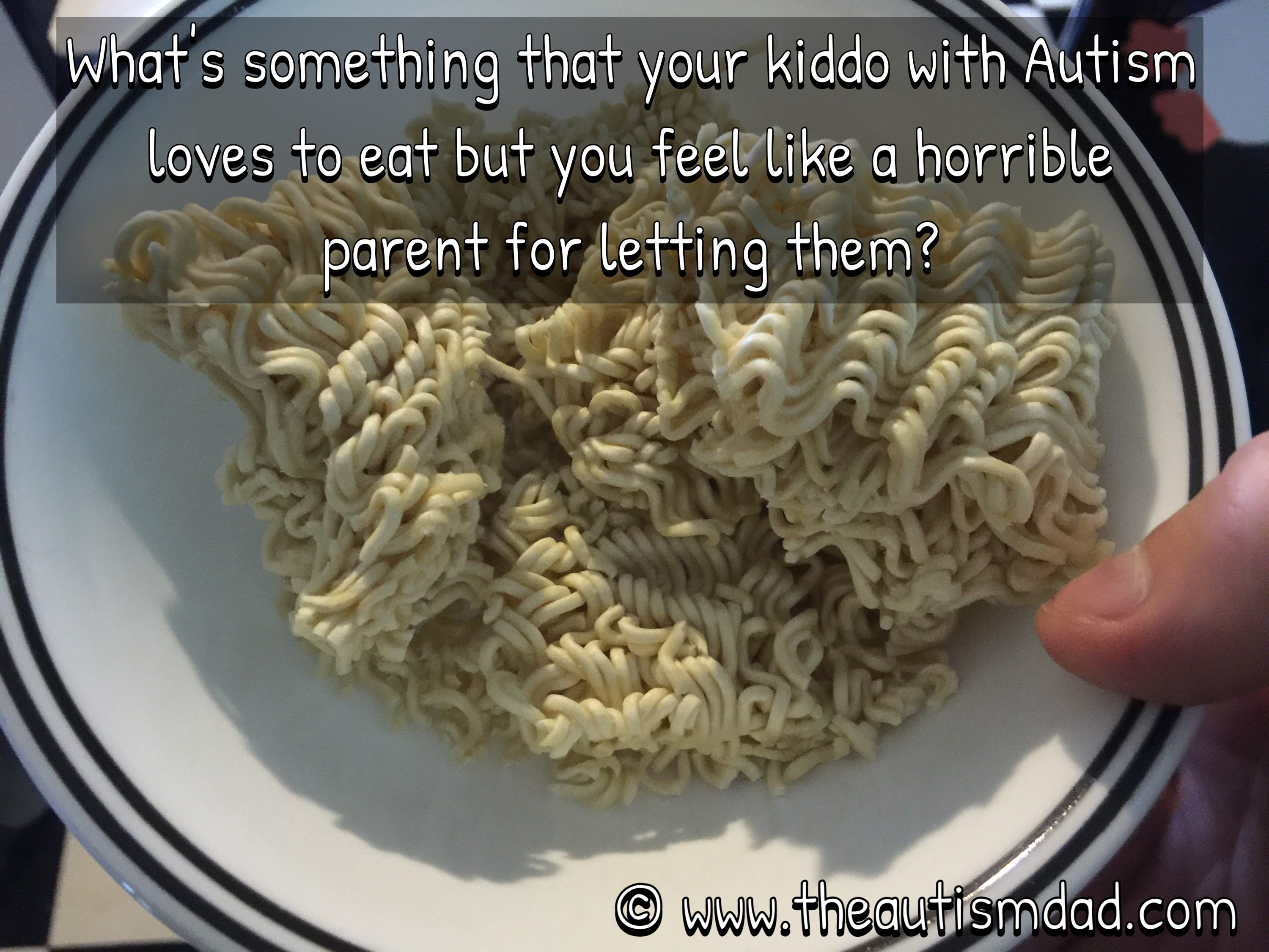 What's something that your kiddo with #Autism loves to eat but you feel like a horrible parent for letting them?