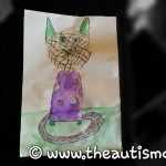 Art by Elliott: Check out this cool cat