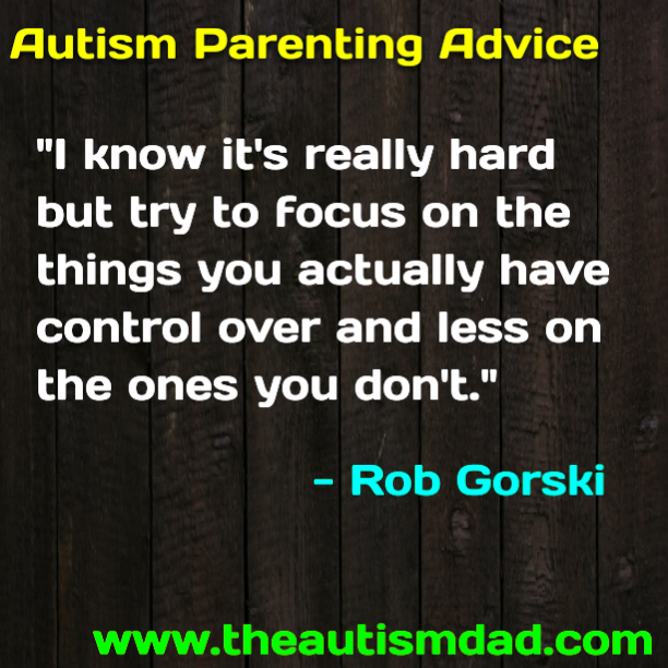 #Autism Parenting Advice: Adjust Your Focus
