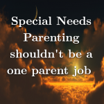 Special Needs Parenting shouldn't be a one parent job