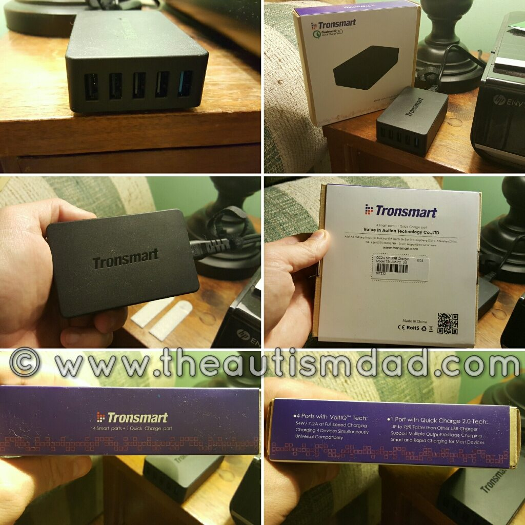 REVIEW: @Tronsmart TS-UC5PC Quick Charge 2.0 Rapid Desktop Charger