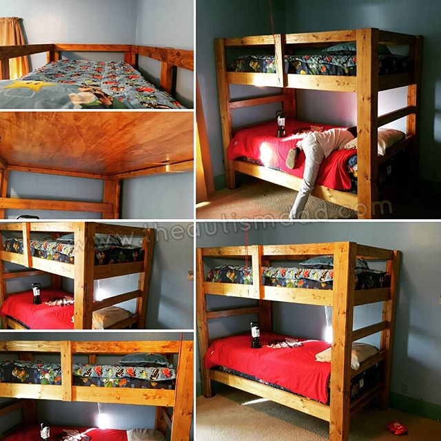 My Latest Photos: The Made With Love Homemade Christmas Bunkbeds