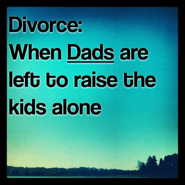 Divorce: When Dads are left to raise the kids alone