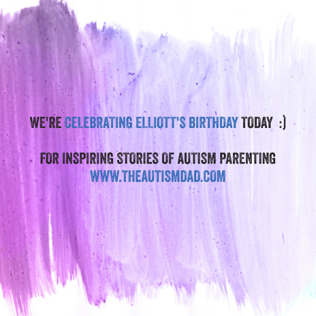 We're celebrating Elliott's Birthday today  :)