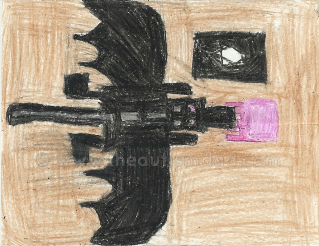 Awesome Art by Elliott: The Ender Dragon