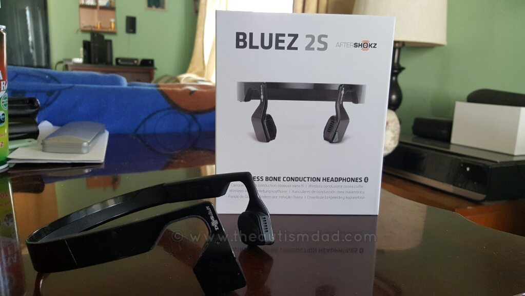 (Review) Aftershokz Bluez 2S Wireless Bluetooth Bone Conduction Headphones