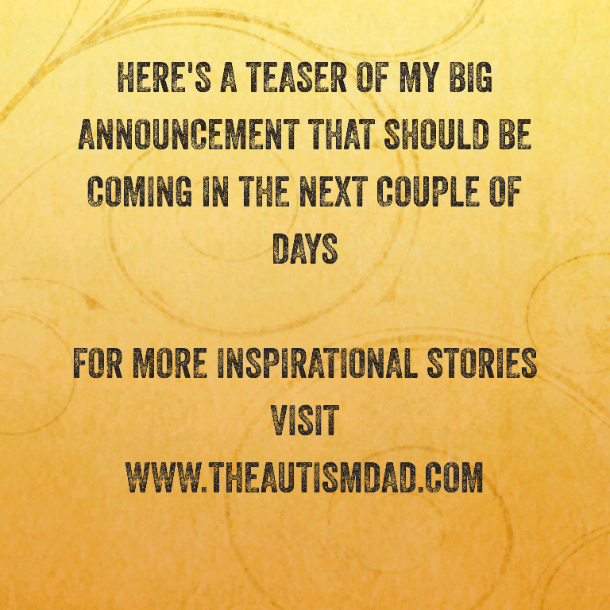 Here's a teaser of my big announcement that should be coming in the next couple of days
