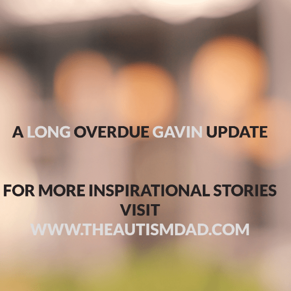 A long overdue Gavin update