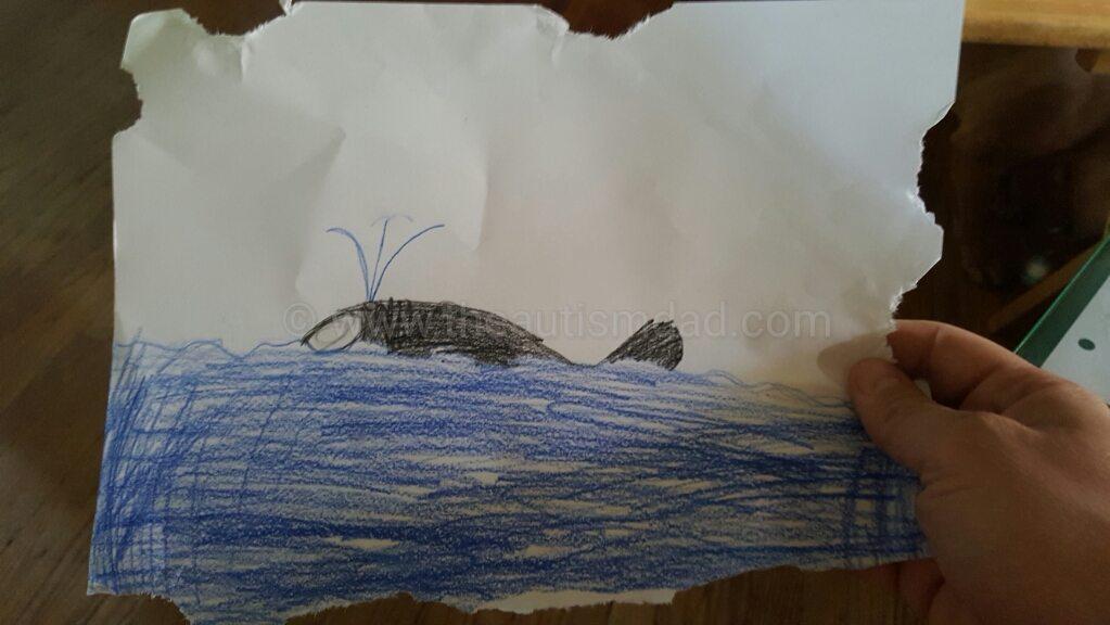 Some ocean artwork by Emmett