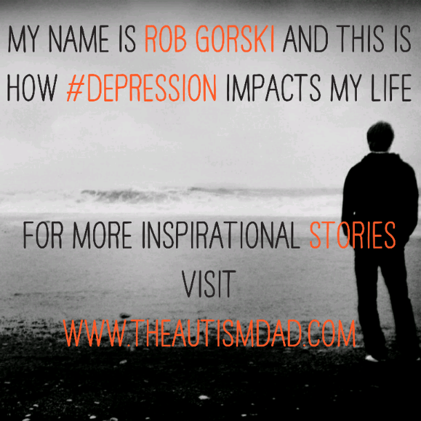 My name is Rob Gorski and this is how #depression impacts my life