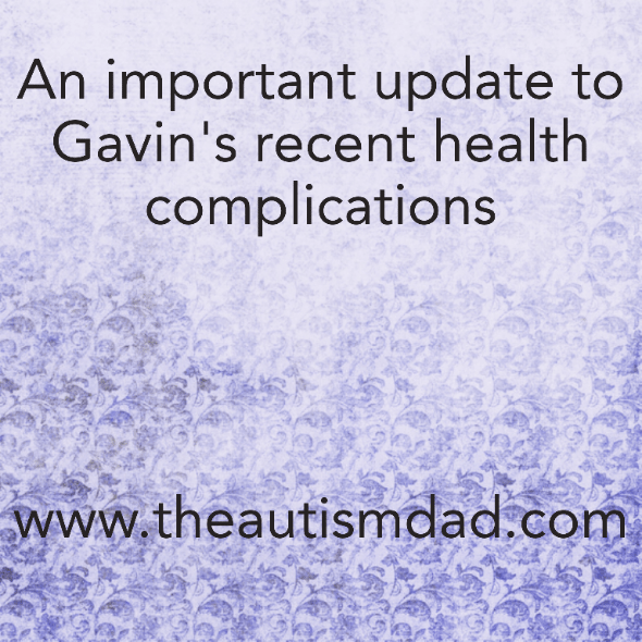 An important update to Gavin's recent health complications