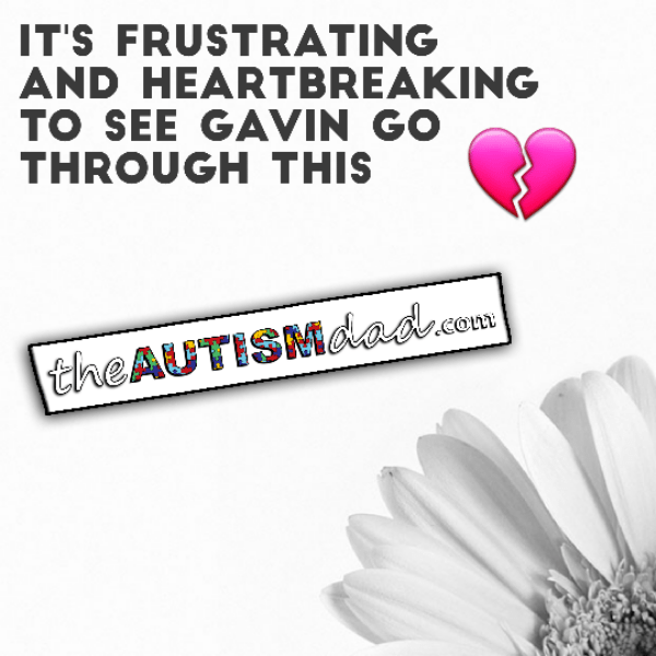 It's frustrating and heartbreaking to see Gavin go through this