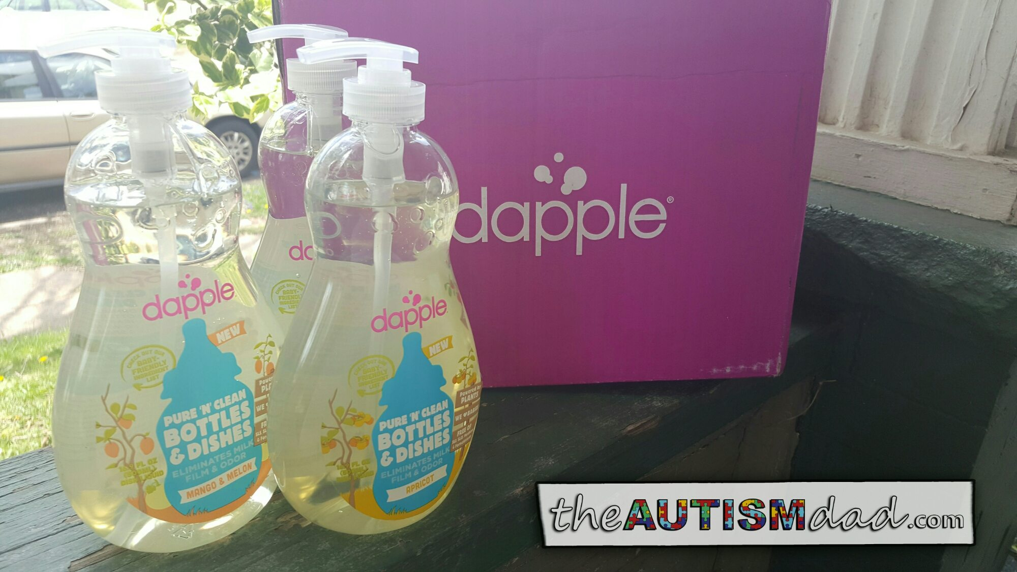 Thanks to our friends at Dapple for the samples (@dapplebaby)