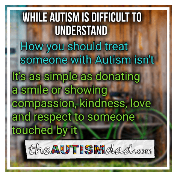 You don't have to understand #Autism to show compassion