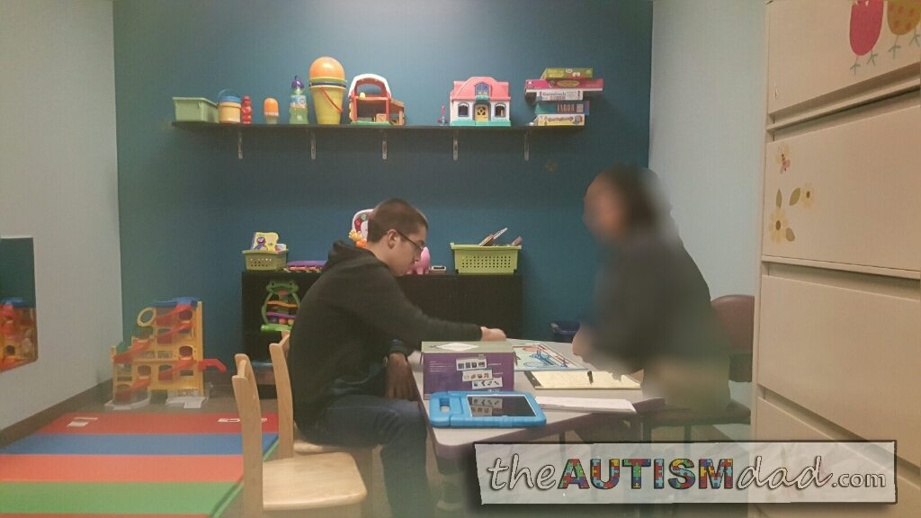 Gavin kicked ass in Speech Therapy today