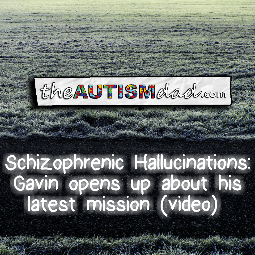 Schizophrenic Hallucinations: Gavin opens up about his latest mission (video)