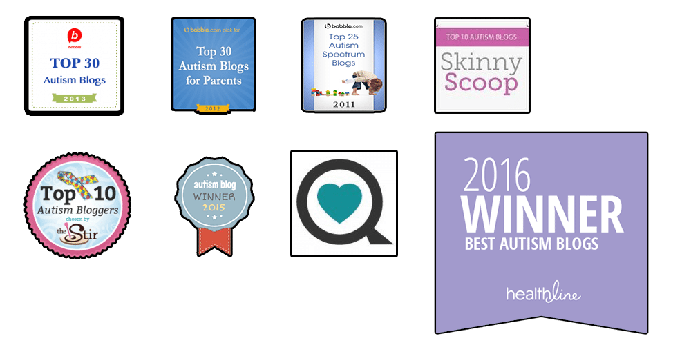 I was honored with the 2016 Best Autism Blogs award from @healthline