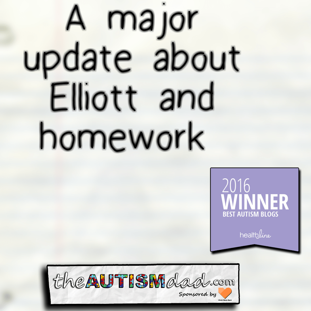 A major update about Elliott and homework