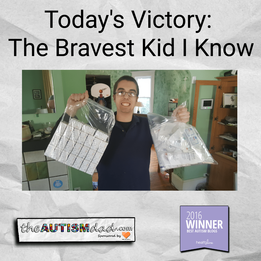 Today's Victory: The Bravest Kid I Know