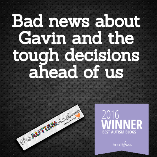 Bad news about Gavin and the tough decisions ahead