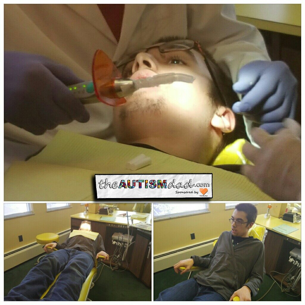 Here's how Gavin's trip to the dentist went