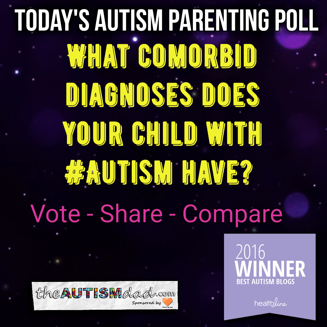 (Autism Poll) What comorbid diagnoses does your child with #Autism have?