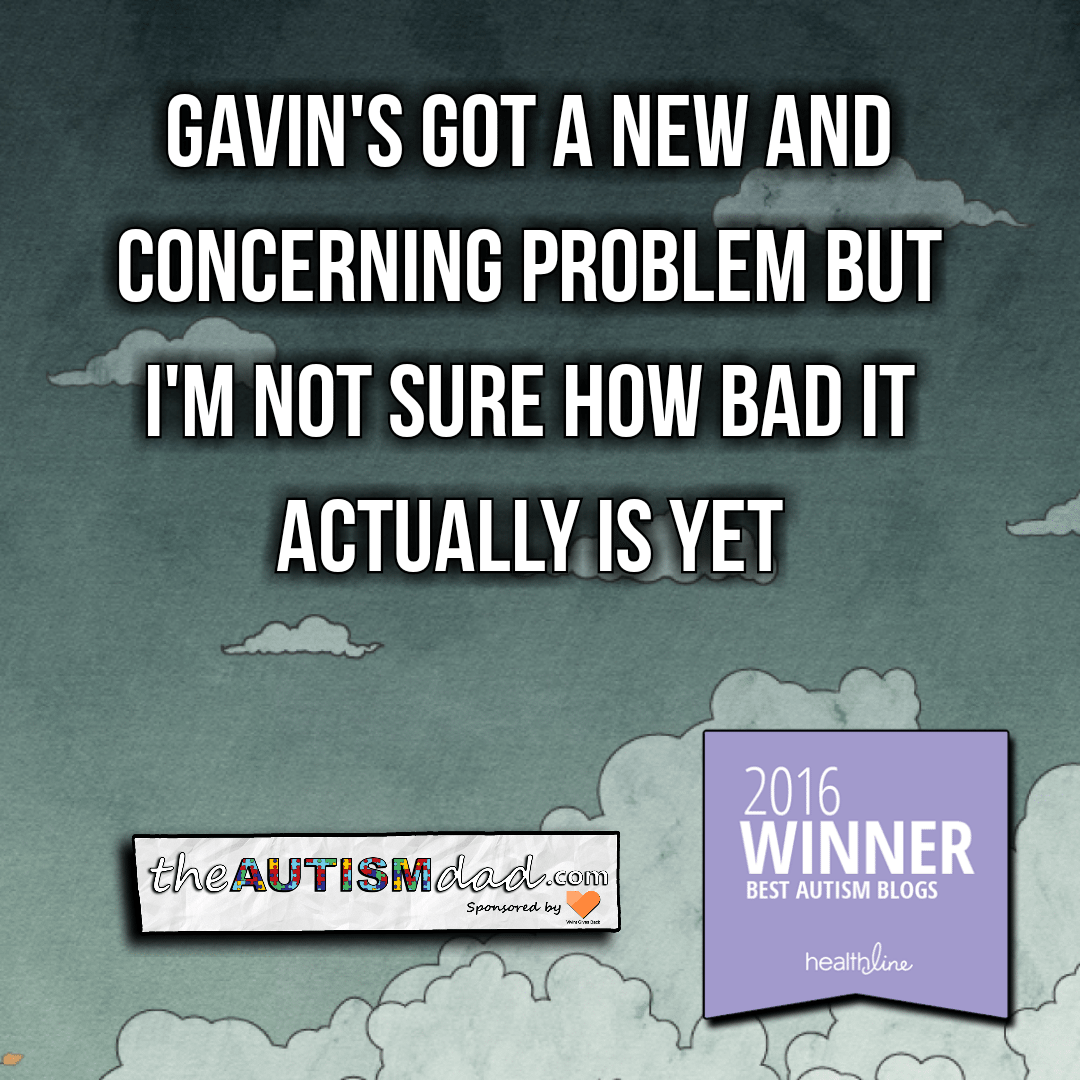 Gavin's got a new and concerning problem but I'm not sure how bad it actually is yet