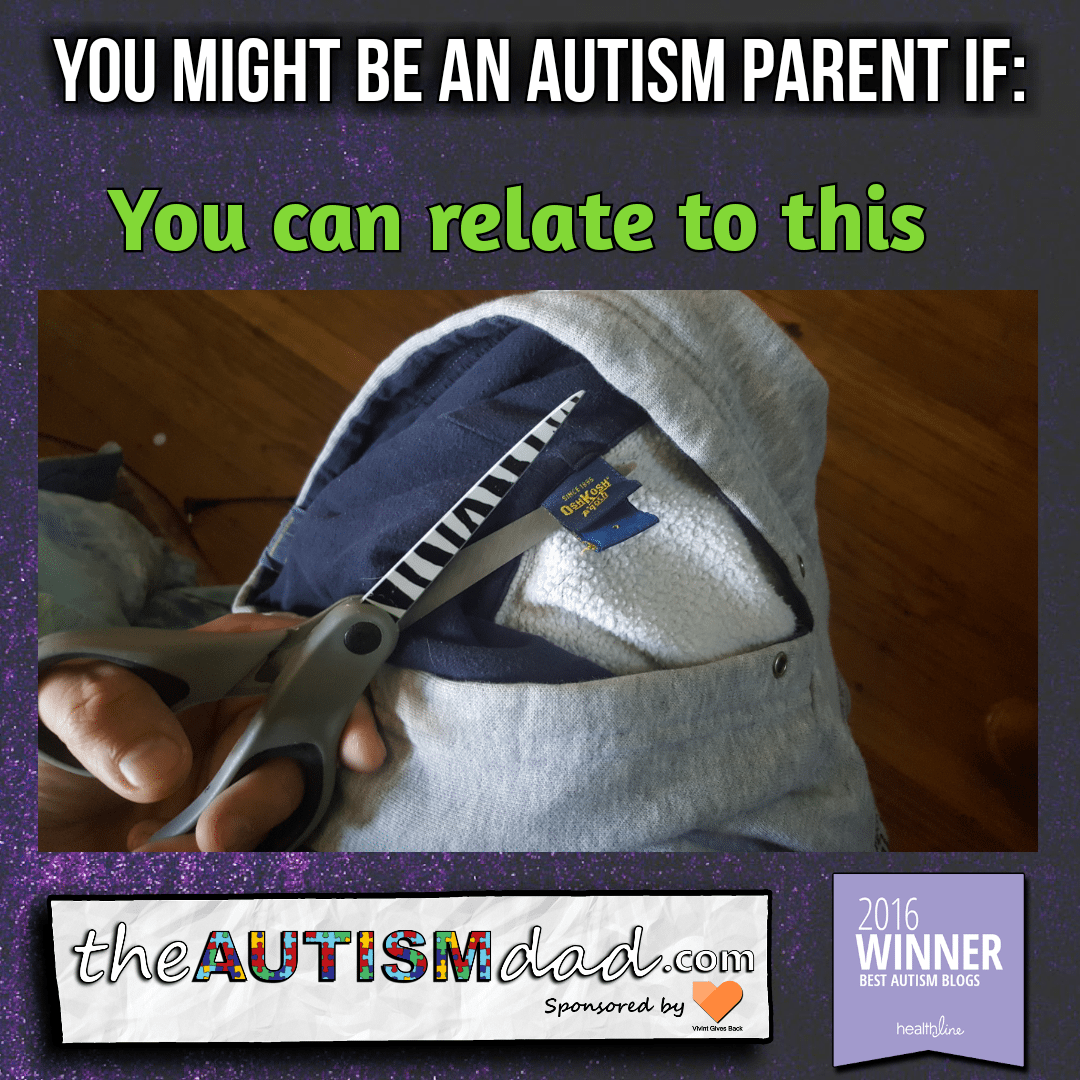 You Might Be An Autism Parent If………