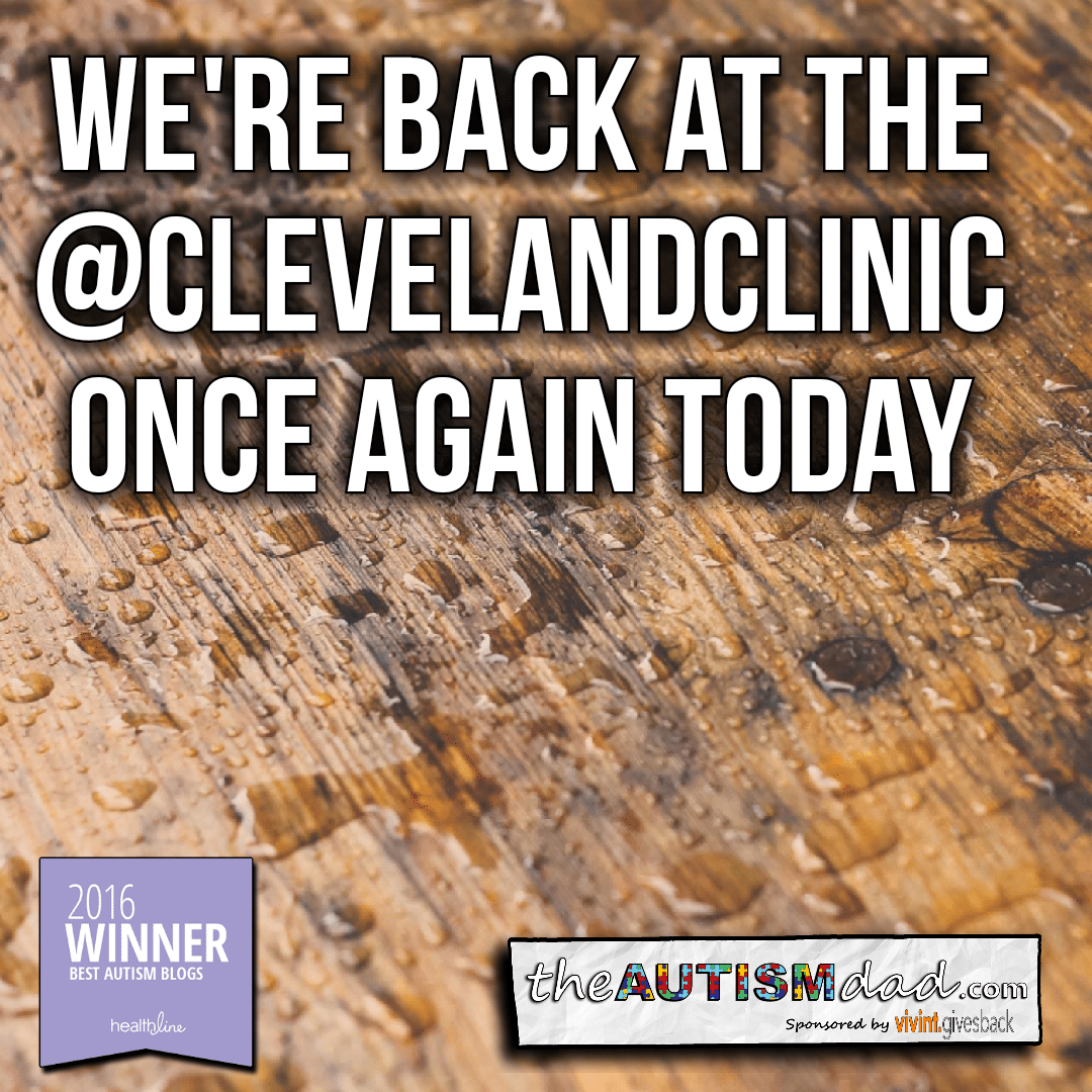 We're back at the @ClevelandClinic once again today