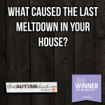 What caused the last meltdown in your house?
