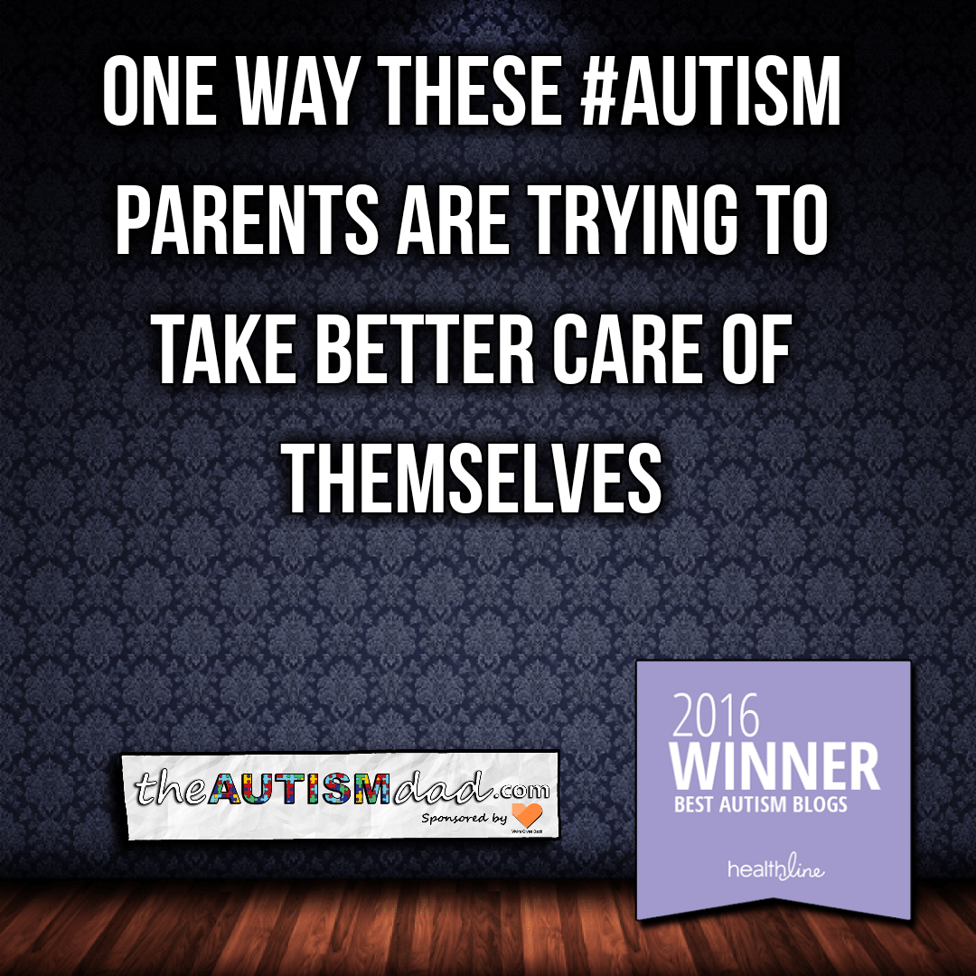 One way these #Autism parents are trying to take better care of themselves