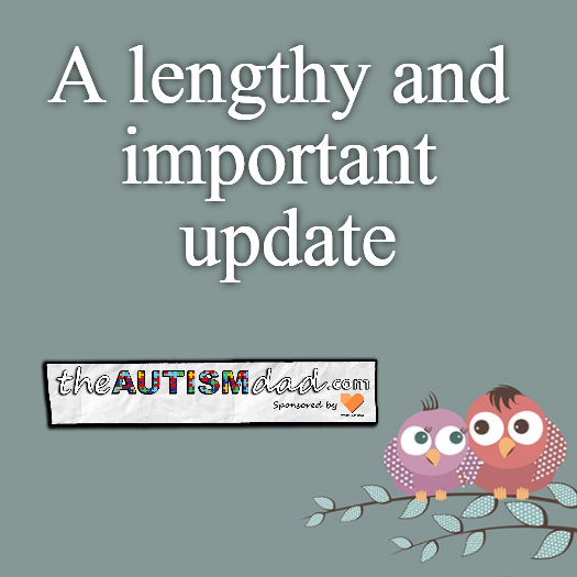 A lengthy and important update