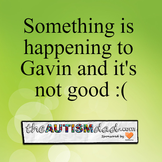 Something is happening to Gavin and it's not good :(