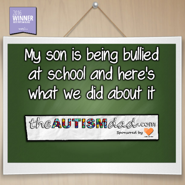 My son is being bullied at school and here's what we did about it