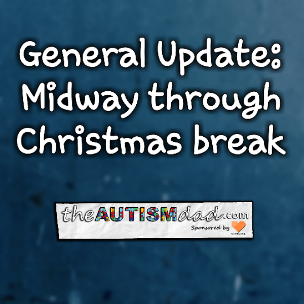 General Update: Midway through Christmas break