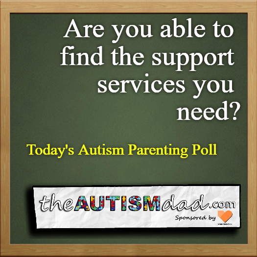 (Autism Poll) Are you able to find the support services that you need?