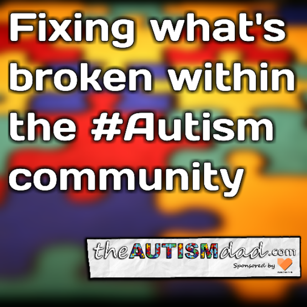 Fixing what's broken within the #Autism community