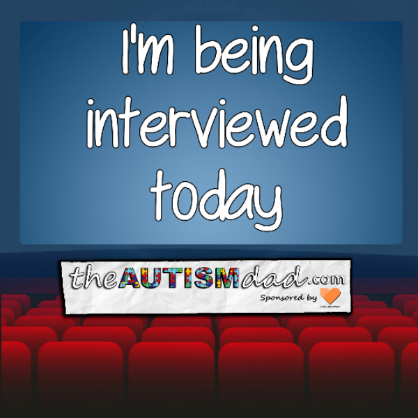 I'm being interviewed today