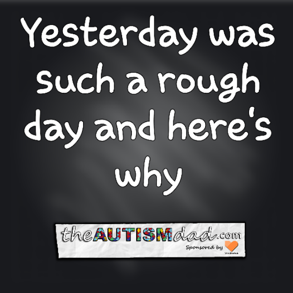 Yesterday was such a rough day and here's why