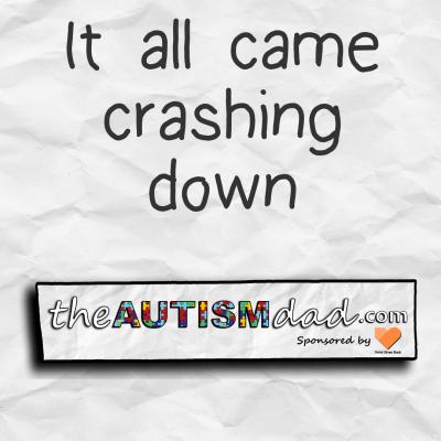 It all comes crashing down