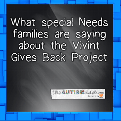 #Autism families are sharing about how @VivintGivesBack has improved their lives and given them peace of mind
