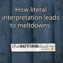 How literal interpretation leads to meltdowns