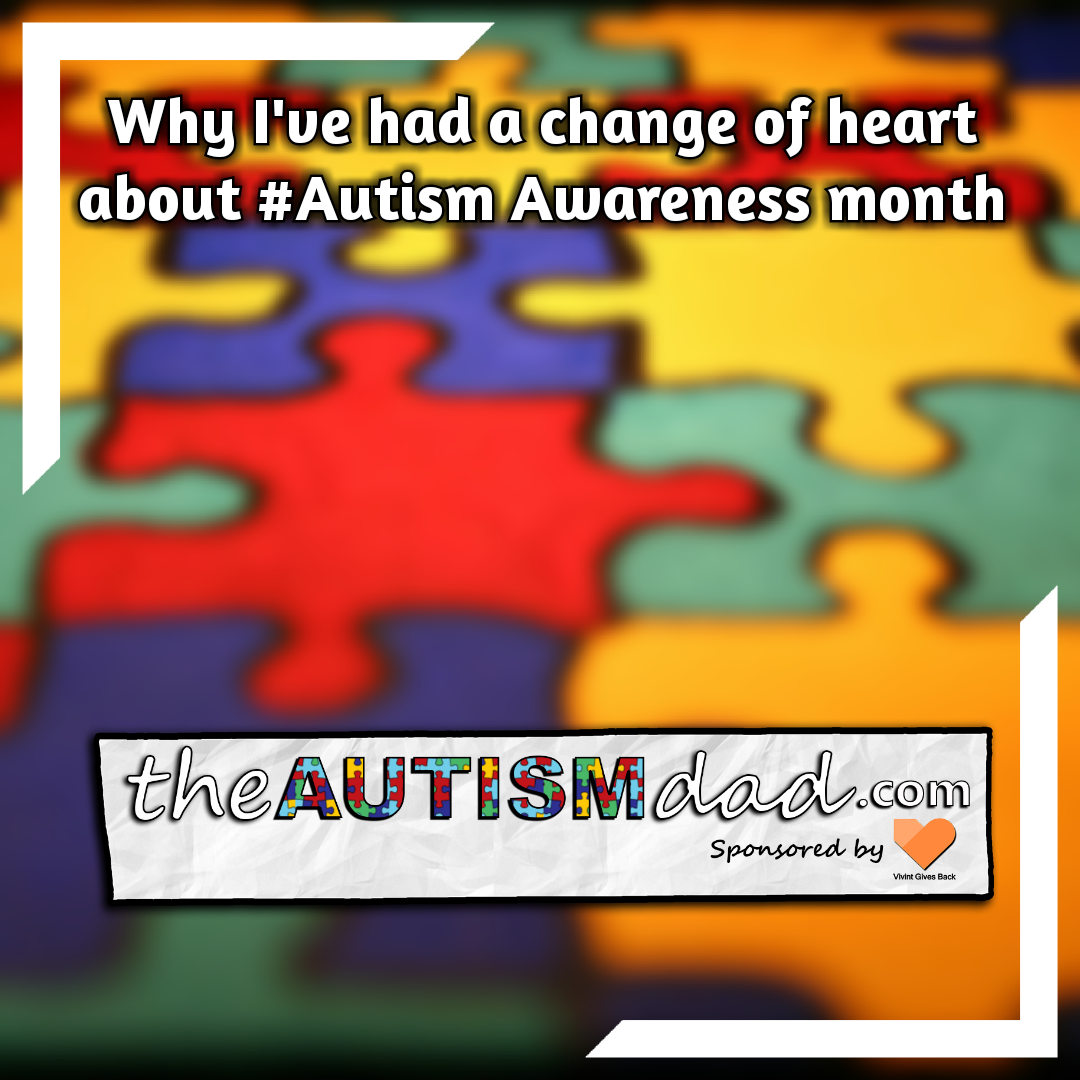 Why I've had a change of heart about #Autism Awareness month