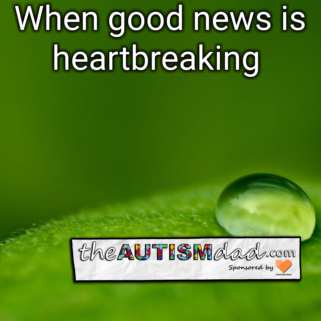 When good news is heartbreaking