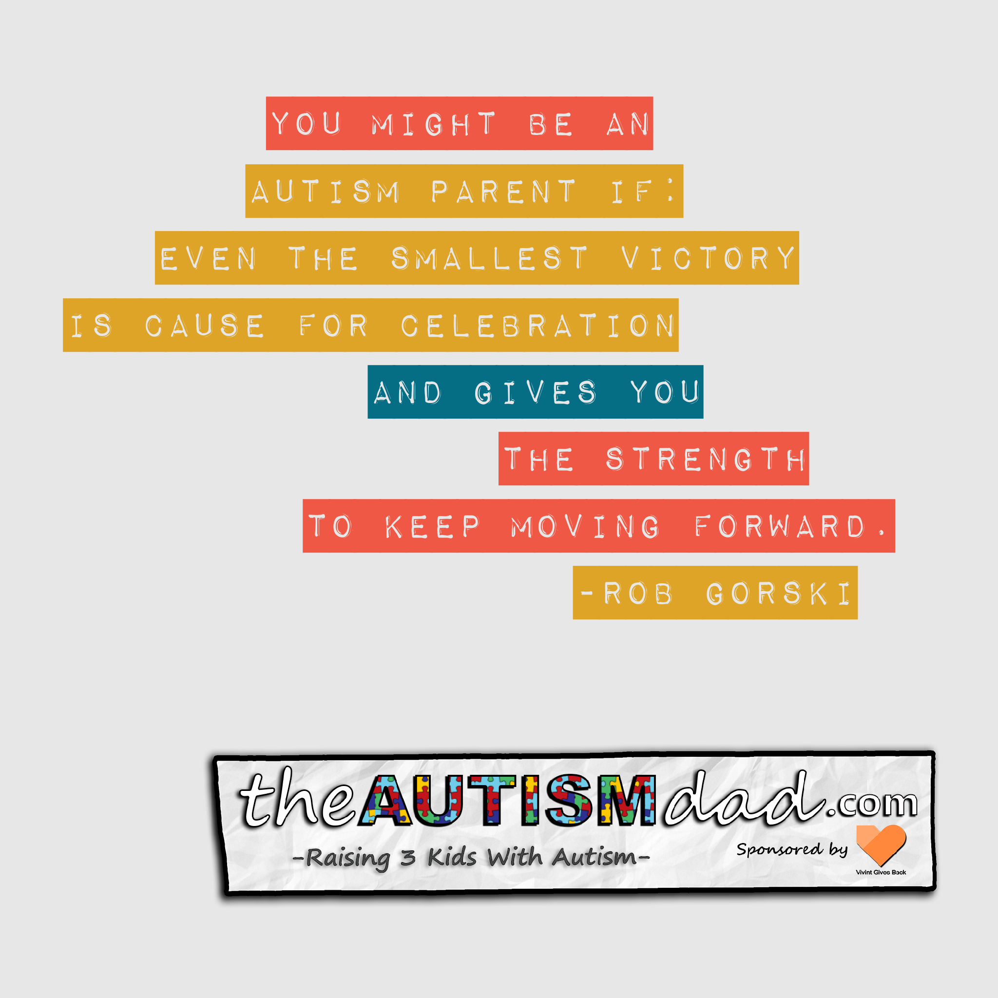You Might Be An #Autism Parent If: The Little Victories